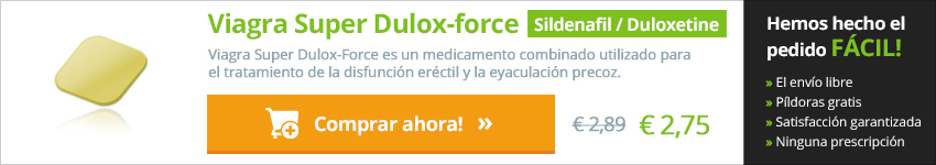 Viagra Super Dulox Force en línea Valencia